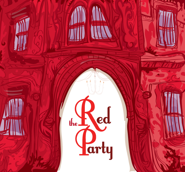 Print Banks Creative Graphic Design and Web Design Agency – Red Party Invitations